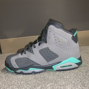 Air Jordan Retro 7 Grey Mint Green